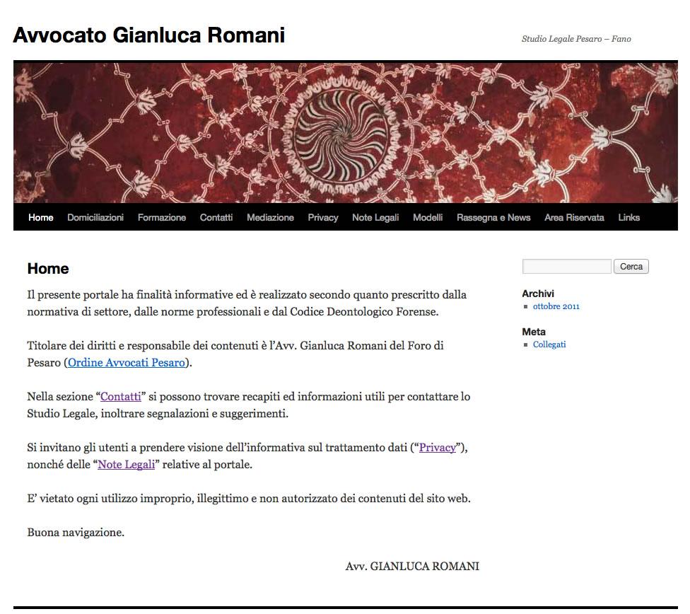 Avvocato Romani