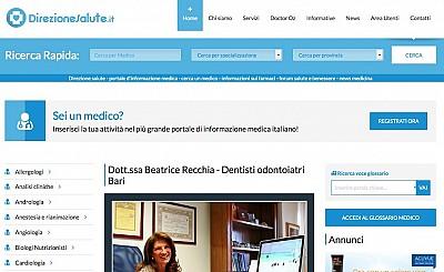 Il portale dedicato ai medici