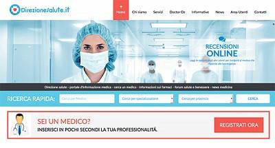Il web apre le porte ai medici: è arrivato Direzionesalute.it