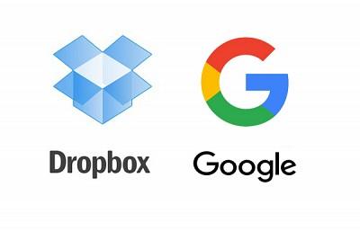 Google e Dropbox insieme