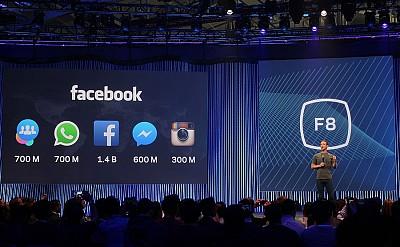 Novità dalla Facebook F8